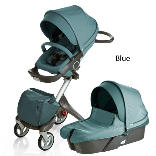 Stokke Xplory V5 kočík 2017 - 3 v 1 True Black Edition